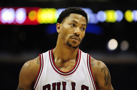 Derrick Rose of the Chicago Bulls